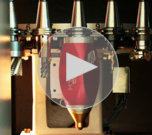 Image of Additive Manufacturing Parts intro screen to watch our video.